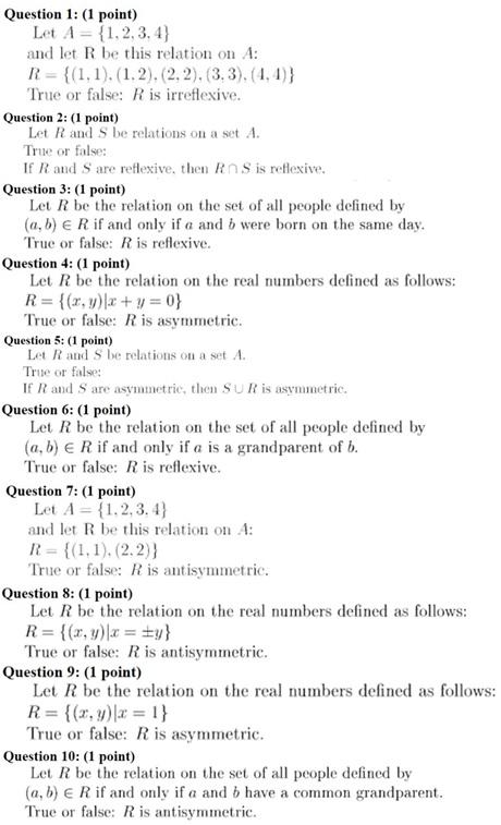 Math Discrete Mathematics